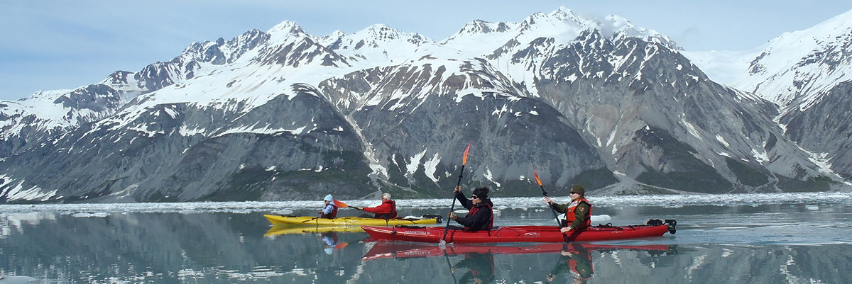 Discoverers' Glacier Country